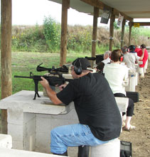 Rifle and handgun shooting range - Austin TX